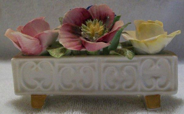 Jon Anton Bone China Floral Flower Box Design