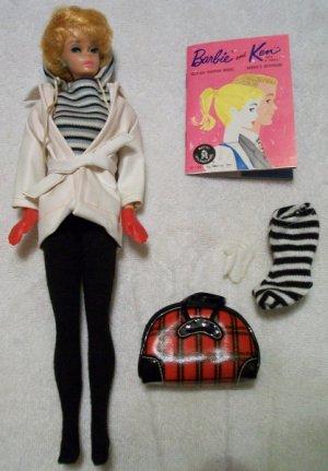 Vintage Bubble Cut Barbie 1961