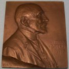 Vintage Bronze Plaquette By H.Kautsch