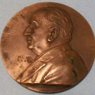 Vintage Louis Lumiere Bronze Medal by G Prud'homme