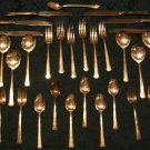 """1881 Rogers Silverplate """"DEL MAR Pattern 1939"""" Service for 6 With Box"""