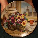 "Bradford Exchange ""Gardener's Delight #6345A"" Plate By Glenna Kurz"