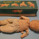 Sleepy Baby Doll By Shackman (Japan 1957)