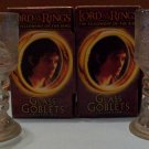Set of 2 Lord Of The Rings Lighted Glass Goblets (Frodo)