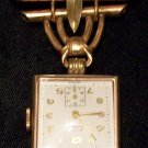 Vintage Rima 17 Jewel Nurses Watch Pin (12kt)