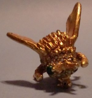 KJL Bee Pin (Enamel/Rhinestones)