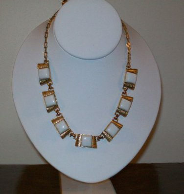 'Chiclet' Necklace/Choker (1970s)