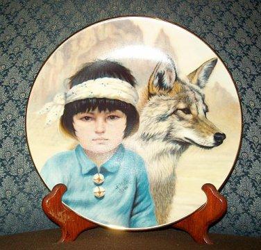 """Perillo """"Peaceful Comrades"""" Collectors Plate"""