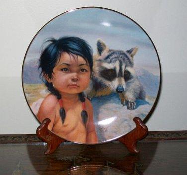 "Perillo ""Dark-Eyed Friends"" Collectors Plate"