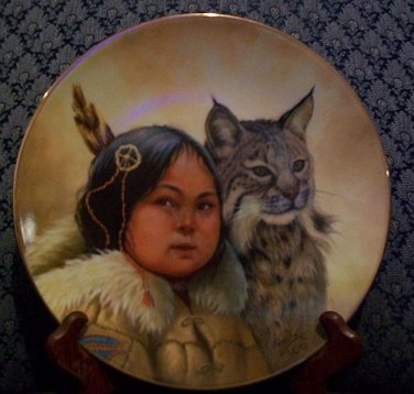 "Perillo ""Winter Scouts"" Collectors Plate"