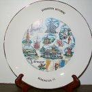 Vermont State Souvenir Collectors Plate