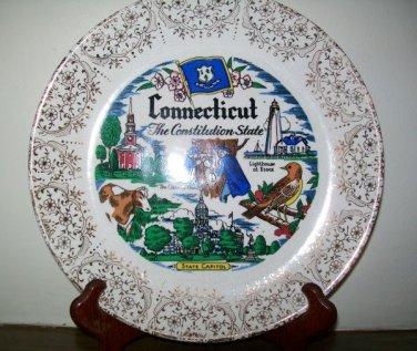 Sabin Souvenir Connecticut Collectors Plate
