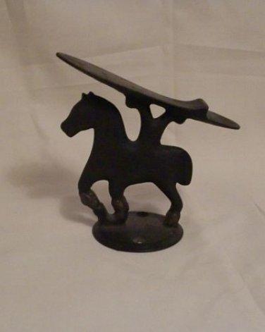 Antique Cast Iron Horse Style Shoe Shine Rest