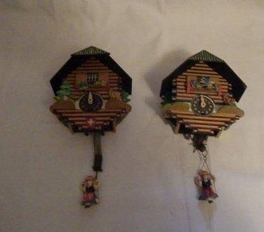 Mechanical Novelty Cuckoo Clocks (small)