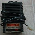 Car battery charger, 6N-1200SC-Ni-Cd battery-7.2V