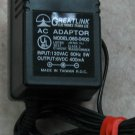 Greatlink model 060-0400-6V-DC-400mA adapter