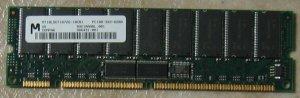 PC100-322-620R, Micron, Registered ECC, 128MB