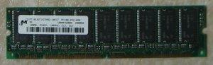 PC100-222-620, Micron 128MB, ECC CL2---free shipping