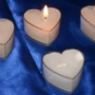 Heart Shaped Candle and Holder