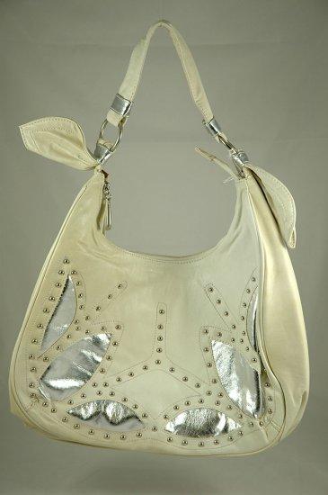 ME Design cream colored hobo bag