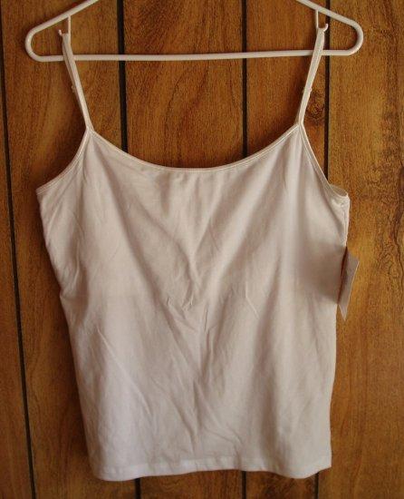 Q&A, Women's White Camisole, Size XL