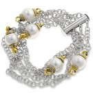 White Shell Pearl Fashion Bracelet