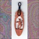 Small Vulture in Tree  Aromatic Cedar Feather Wall Hanging