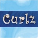 Curlz 8 Inch Wood Letters Numbers Pine Signs