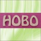 Oak Hobo  5 Inch Wood Letters Numbers Names Wooden