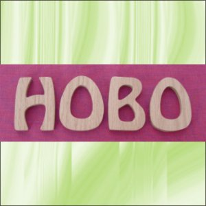 Oak Hobo  5 Inch Wood Letters Numbers Names Wooden