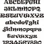 Oak Ravie  3 Inch Wood Letters Numbers Names Wooden