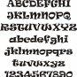 Oak Ravie  4 Inch Wood Letters Numbers Names Wooden