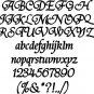 Oak Elegant 3 Inch Wood Letters Numbers  Wooden Names
