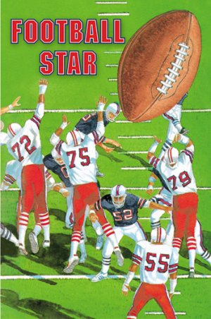 Football Star Personalized Children's Book