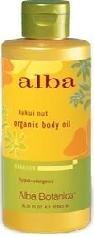 Kukui Nut Organic Massage Oil