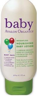 Weightless Nourishing Baby Lotion