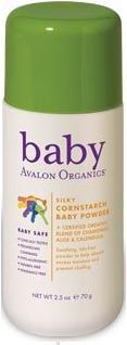 Silky Cornstarch Baby Powder