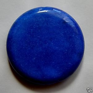 Lapis Jasper 40mm Disc Pendant Bead