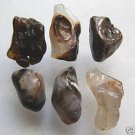 6 Mexican Fire Agate Natural Nugget Beads