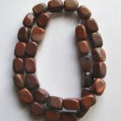 "Red Jasper 12x8 Rectangle Beads 16"" strand"