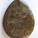Bronzite 42x32 Teardrop Pendant Bead