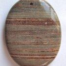 Surreal Jasper 45X35 Oval Pendant Bead