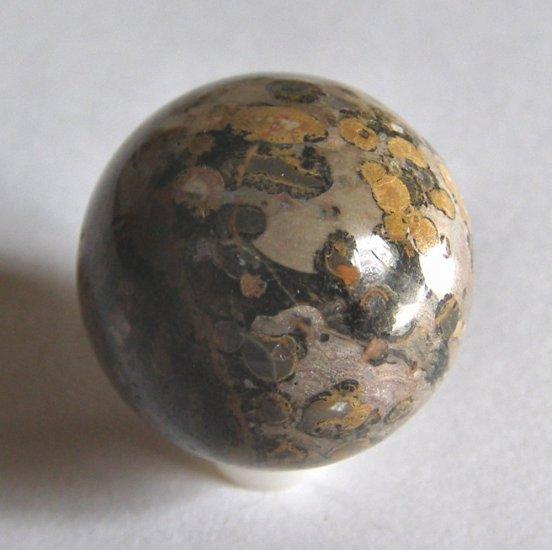 Leopardskin Jasper 24mm Undrilled Sphere