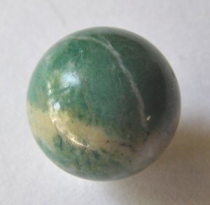 Amazonite 20mm Undrilled Sphere
