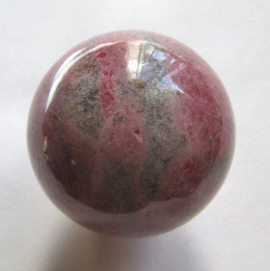 Rhodonite 40mm Undrilled Sphere