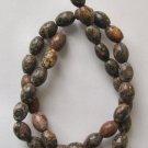 "Leopardskin Jasper 10x8 Oval Beads 15.5"" Strand"