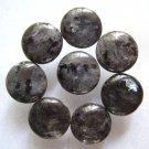 8 Larvikite 16mm Coin Beads