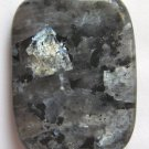 Larvikite 40x30 Rectangle Pendant Bead