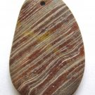 Surreal Jasper 50x33 Freeform Pendant Bead