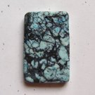 Web Jasper 60x38 Rectangle Pendant Bead